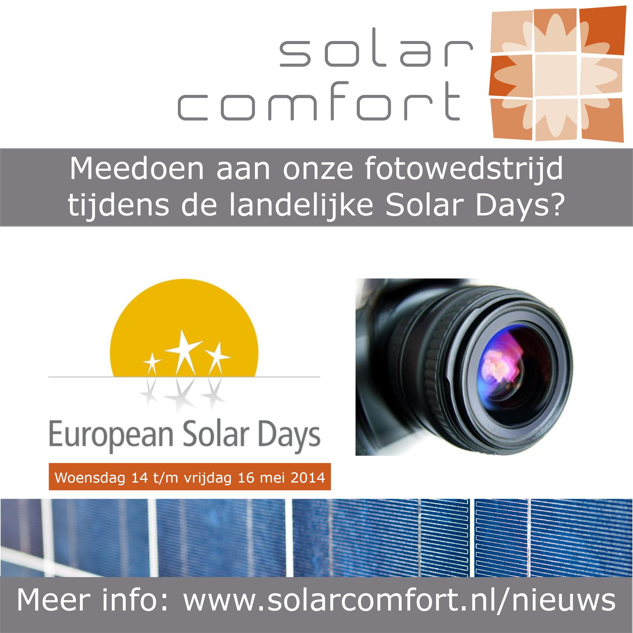 fotowedstrijd solardays
