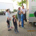 Belangstelling bij de testmachine Solar Days 2016