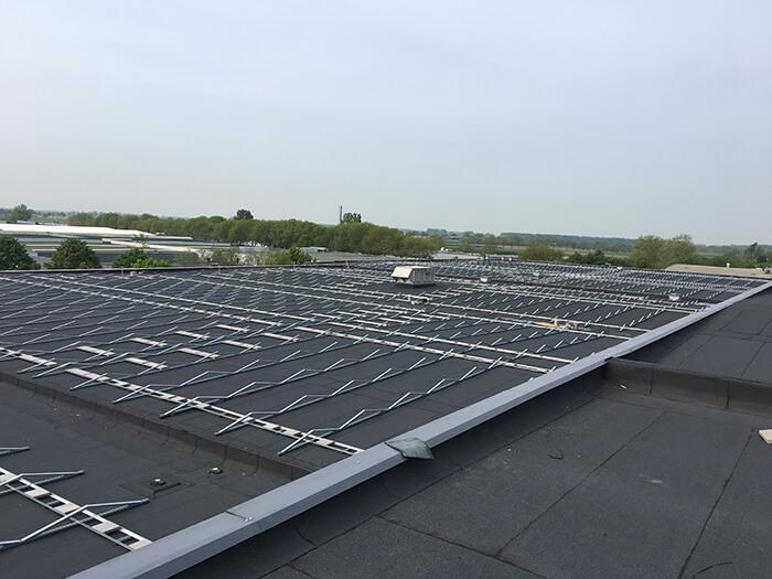 PV-systemen passende constructie