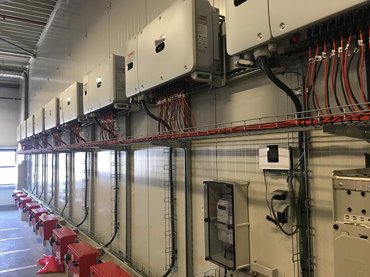PV-Systemen omvormers