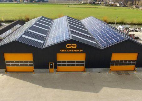 Zonnepanelen voor Gebr. van Breda